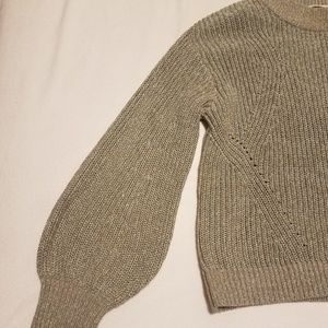 Sparkly Green/Brown Sweater